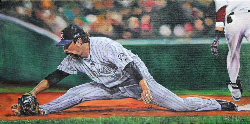 Todd Helton Painting
