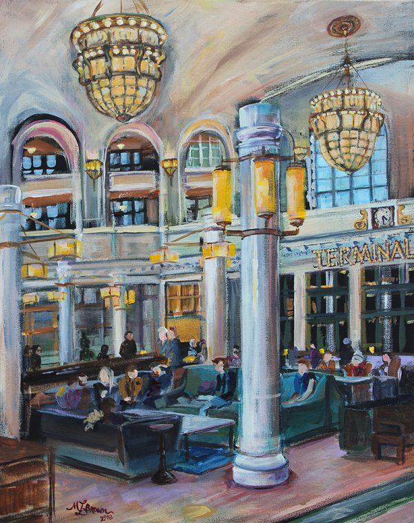 Union Station 20x16